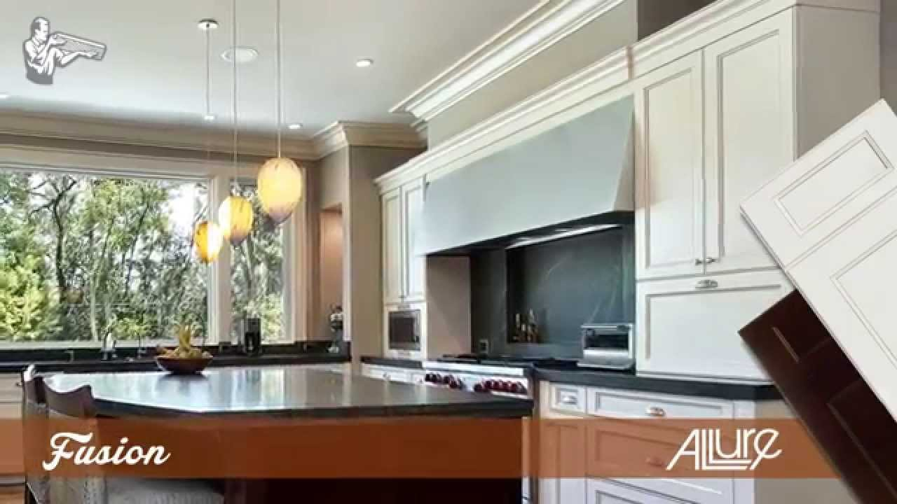 Mainline Kitchen Design: Fabuwood Cabinets Highlights - YouTube