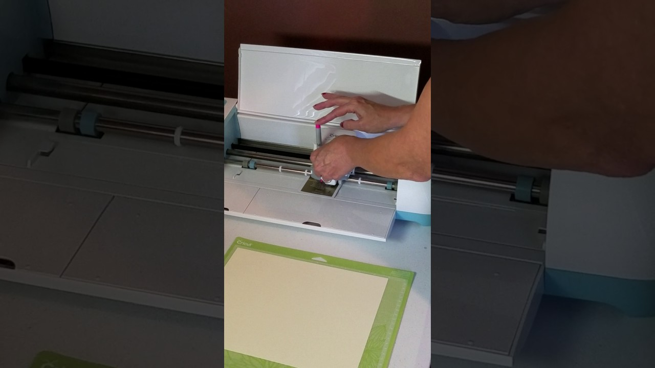 How To Use The Multi Pen Adapter For Cricut Explore And Explore Air Youtube