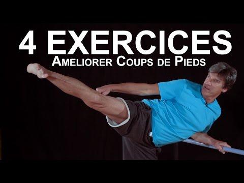 4 exercices pour améliorer tes coups de pieds - KARATE