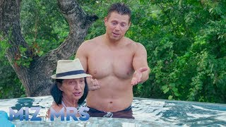 Marjo can't overcome her fear of the pool, despite Miz's expert ins...