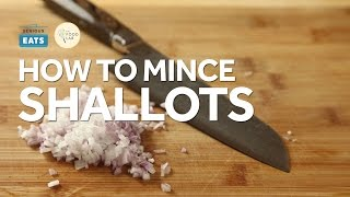 connectYoutube - Knife Skills: How to Mince Shallots