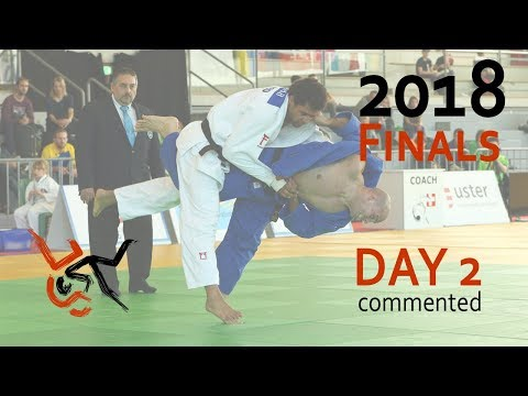 LIVE Swiss Judo Open 2018 - Finals Day 2