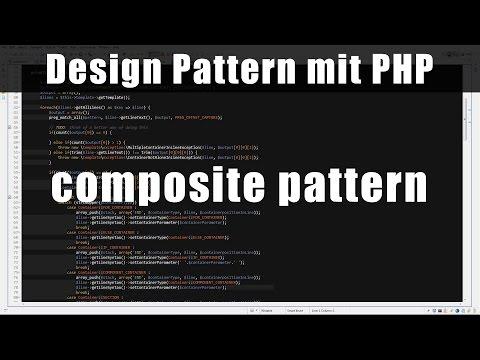 Design Pattern mit PHP5 #1 - composite pattern