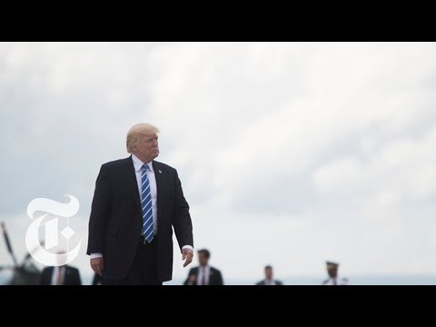 President Donald Trump Spoke about War in Afghanistan