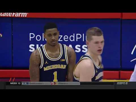 11-21-17 Maui Invitational Michigan vs. Chaminade
