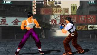 Tekken 3 - Law Gameplay PSX 1.13