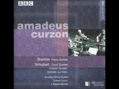 Brahms: Piano Quintet opus 34 (Clifford Curzon & Amadeus Quartet)