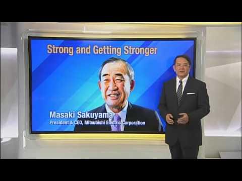 Mitsubishi Electric President & CEO  Masaki Sakuyama on Direct Talk TV