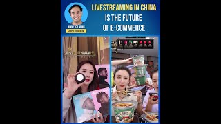 Livestreaming in China is the …
