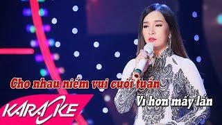 LK Trúc Phương Karaoke - Đào Anh Thư | Nhạc Vàng Bolero Karaoke