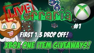 Terraria 1.3 Xbox One Item Dropoff Giveaways - The First 1.3 Drop Off! #1