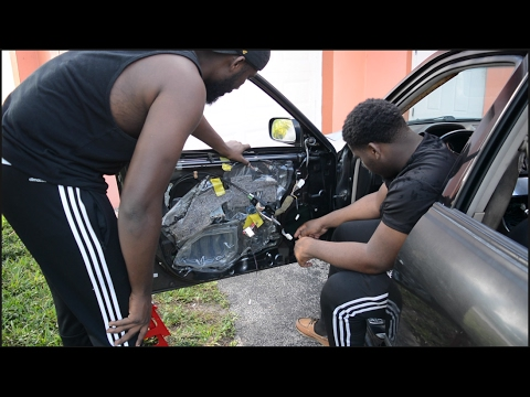 WE HAD TO TAKE APART THE WHOLE CAR!! IS300 GETS NEW SOUND SYSTEM - #PROJECT300