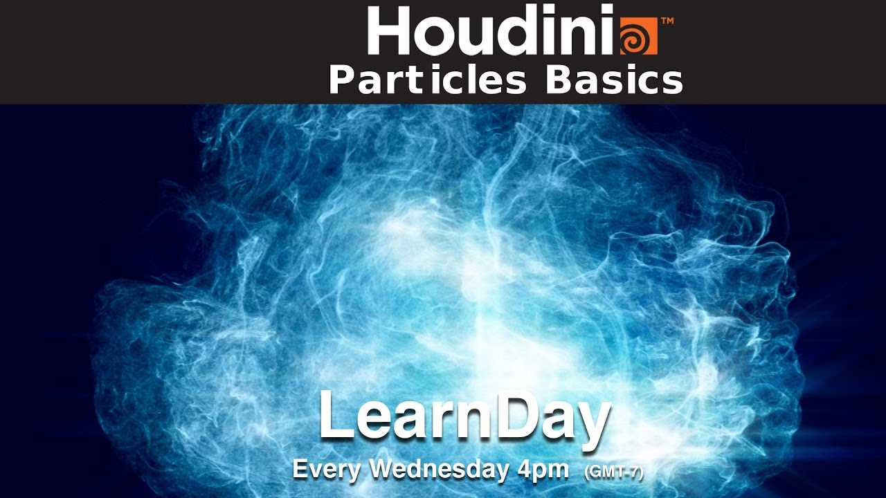 LearnDay - Houdini Particles Basics