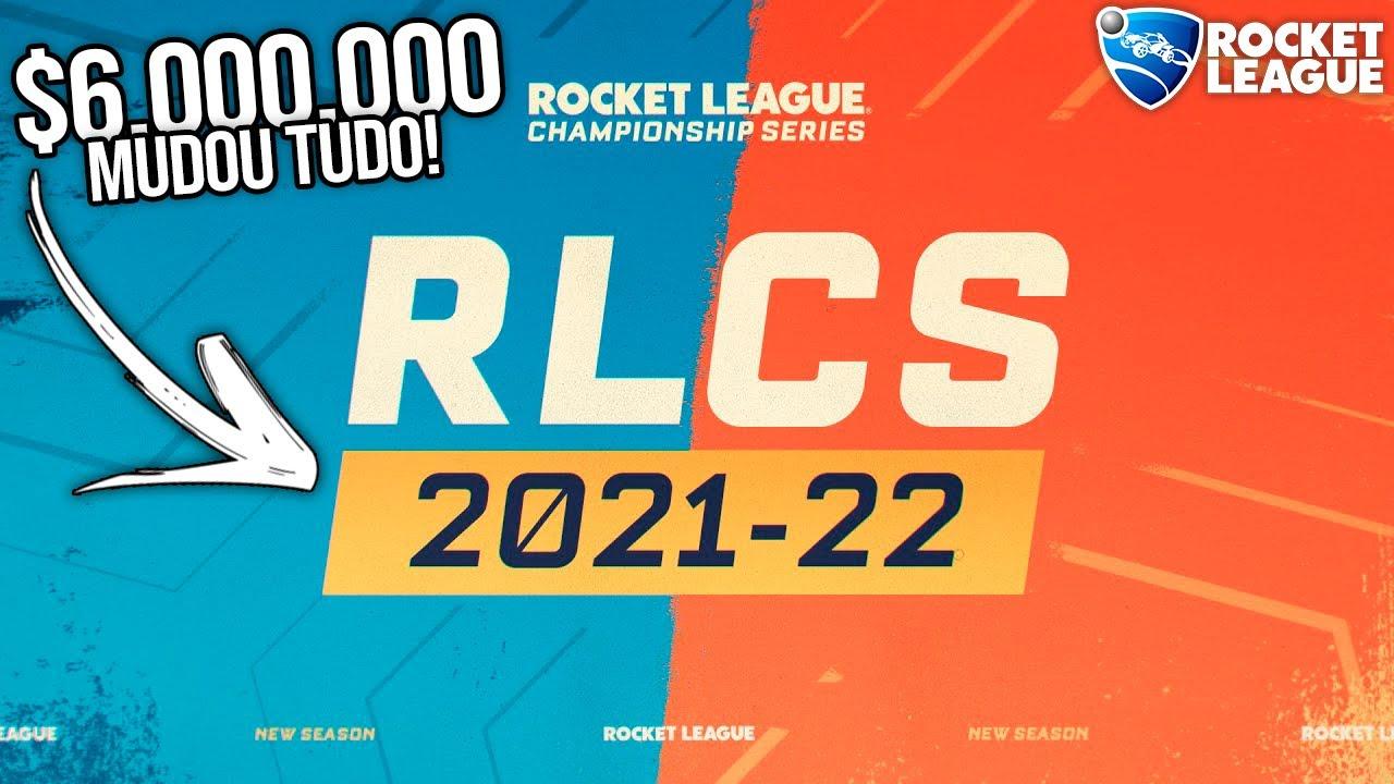 RLCS 21-22! PRÊMIO DE 6 MILHÕES DE DOLÁRES, DECALS DA SAM, 7 REGIÕES E MUITO MAIS! - Rocket League