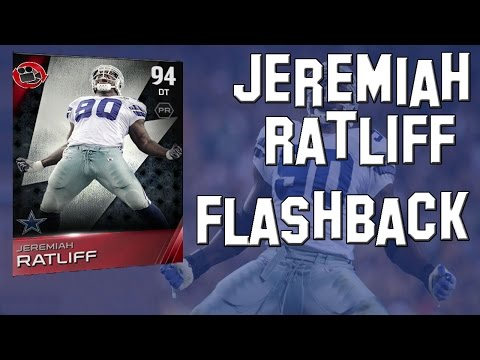 Madden 15 Ultimate Team- MUT 15 Card Review- 94 Overall Flashback Jeremiah Ratliff