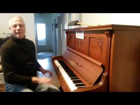 "Gerd Schwinghoff am Piano ""Stichel Leipzig"""