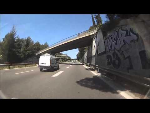 Première fois en duo sur l'autoroute avec un MP3 400 LT HD