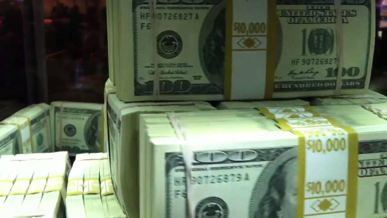 one million dollars in cash youtube. Black Bedroom Furniture Sets. Home Design Ideas