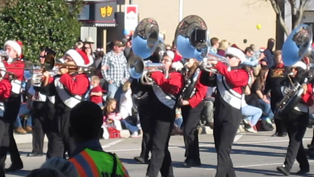 SHS Marching Band parade - YouTube