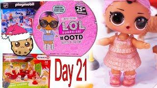 Day 21  LOL Surprise - Playmobil - Schleich Animals Christmas Advent Calendar - Cookie Swirl C