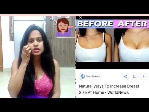 Natural Ways To Increase Breast  Size Tips#Say No To Surgery
