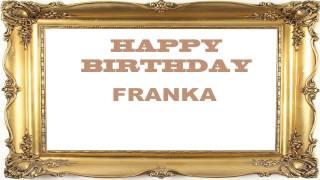 Franka   Birthday Postcards & Postales