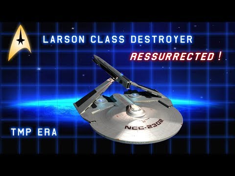 Starfleet's Workhorse Destroyer in the 23rd Century - Animated & Resurrected!