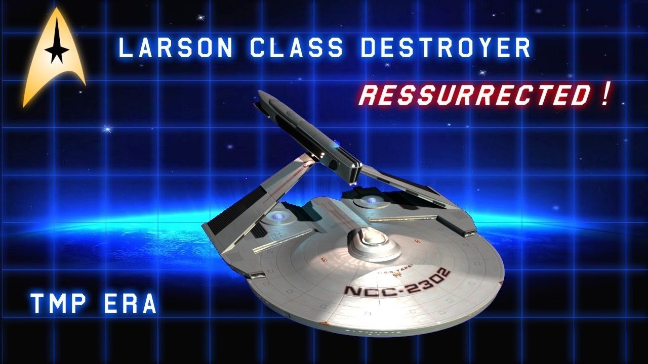 Starfleet's Workhorse Destroyer in the 23rd Century - Animated & Resurrected!