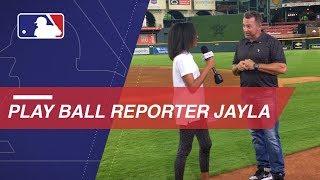 Jayla Montgomery talks meeting Millar and reporting
