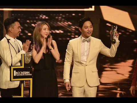 Jin Goo in Jakarta - Indonesian Televison Awards