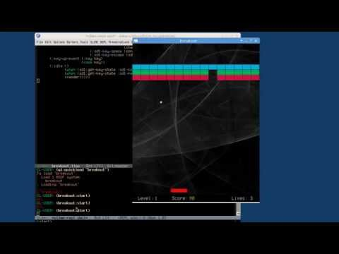 Breakout Game using Common Lisp
