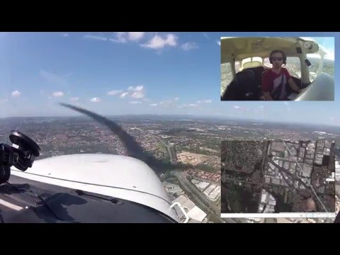 Training Area Flight | Cessna 172 | Archerfield, Brisbane