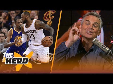 Colin Cowherd on Houston's Game 4 win over Warriors, the gap between LeBron and KD  NBA  THE HERD
