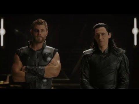 Thor Ragnarok - Post credit scene (thanos ship)
