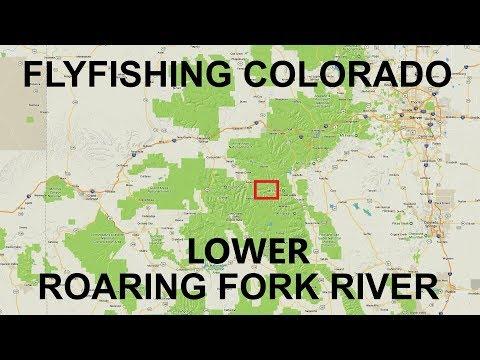 Fishing Near Aspen,  Lower Roaring Fork River