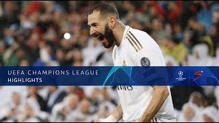 UEFA Champions League | Real Madrid v Paris Saint-Germain | Highlights