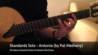 Jazz Chord Study: Antonia (by Pat Metheny)
