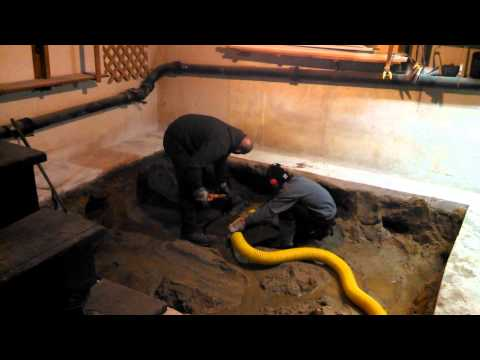 NBW Environmental Services: Basement fuel oil spill clean up