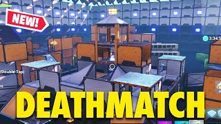 *NEW* FORTNITE DEATHMATCH | TDM & FREE FOR ALL | Map 3 (Fortnite Creative Mode)