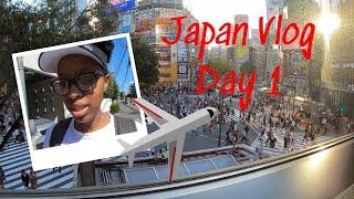 Gambar cover Solo Japan Trip DAY 1|AirBnB Tour,Akihabara,Shibuya Crossing!