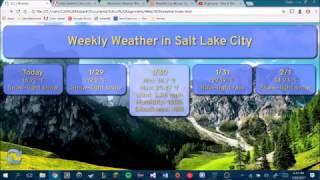 Weather Website Demo