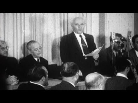 David Ben-Gurion Declares Israel's Independence: The Inside Story