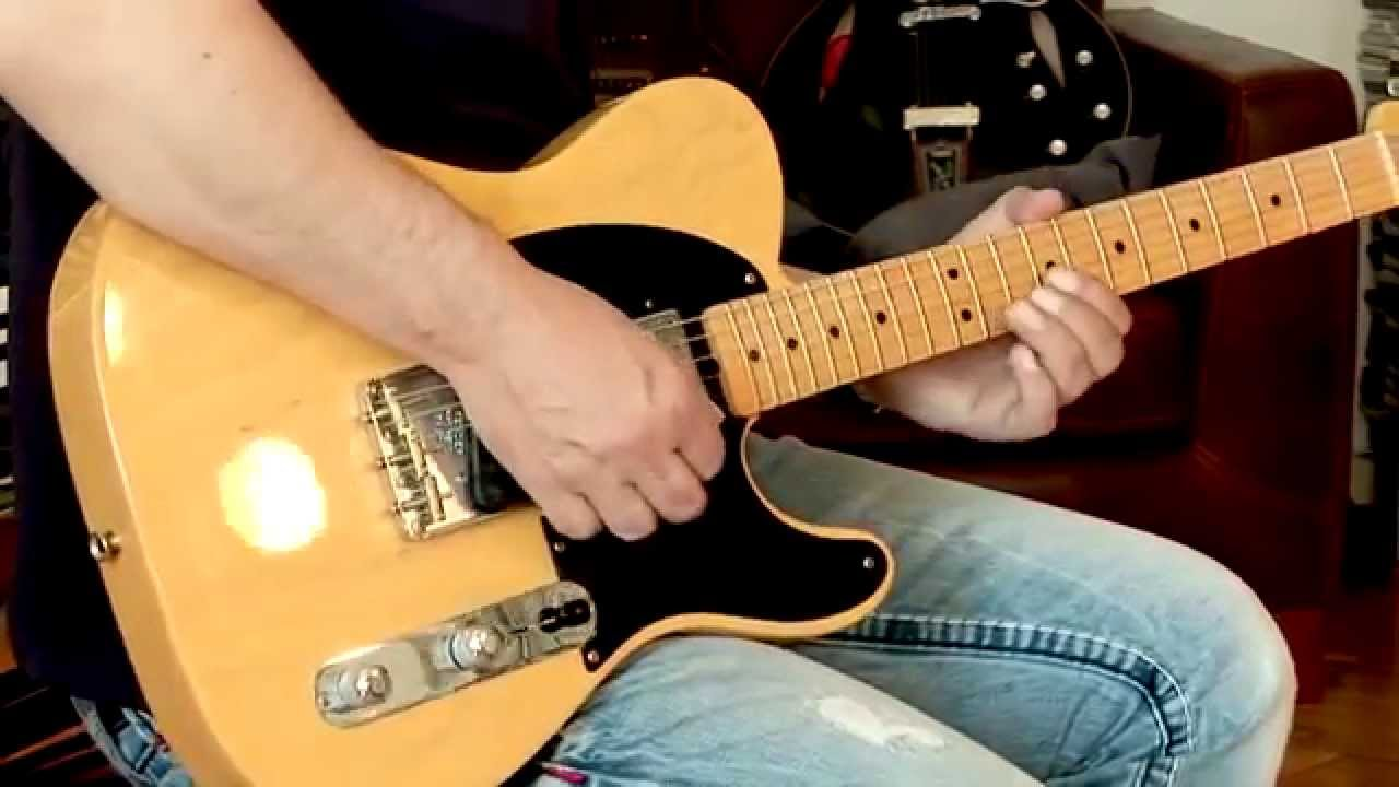 2007 fender telecaster hot rod 52 reissue usa incl 60 s gibson minihumbucker [ 1280 x 720 Pixel ]