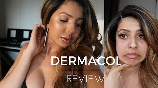 HONEST DERMACOL FOUNDATION FIRST IMPRESSION | REVIEW