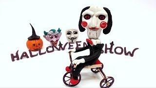 Halloween Mask Stop Motion | OKG Kids Cartoons & Baby Videos