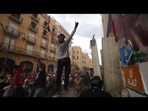 Wut im Libanon: