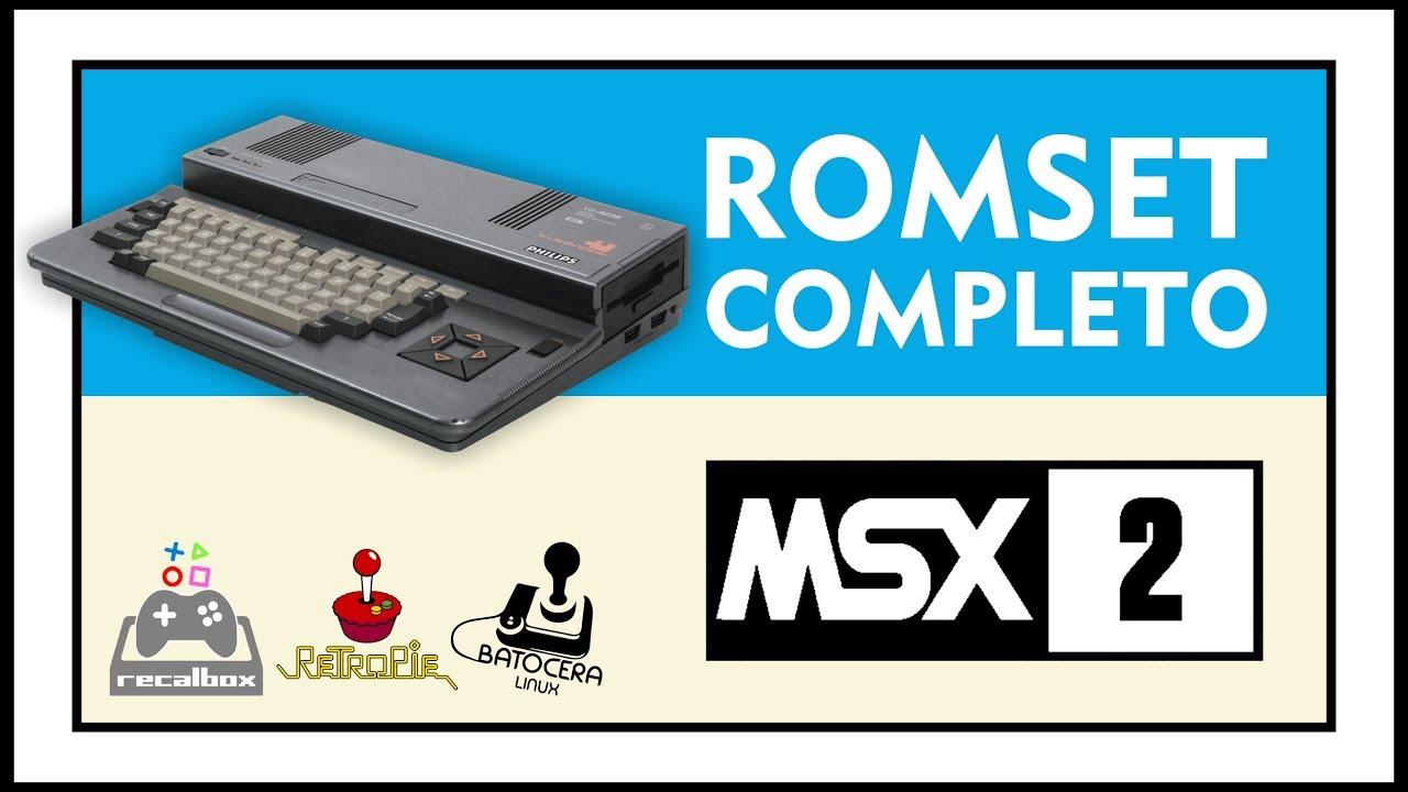 DOWNLOAD COMPLETE ROMSET OF MSX 2