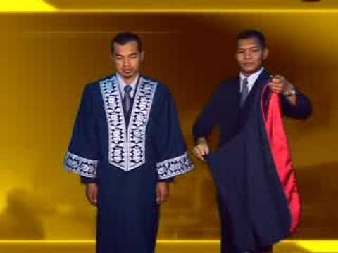 Open University Malaysia Convocation OUM - dressing