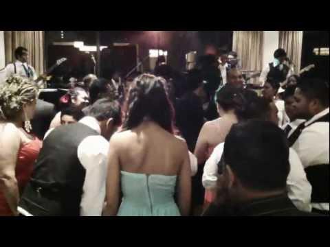 Hot dance moves to Baila music by Anno Domini Sri Lankan Band