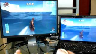 Lenovo G120 Wireless Game mouse with Surf''s UP  (like Wii, Cywee Z)   Part 1/3